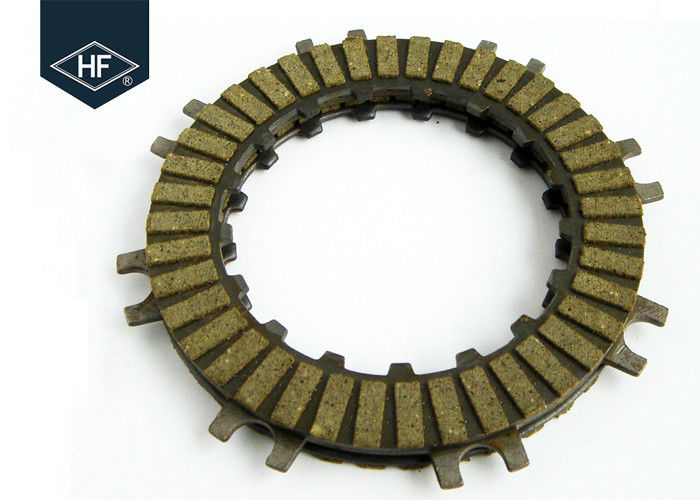 Paper Based Clutch Disc Plate , Auto 90D Motorcycle Clutch Pressure Plate