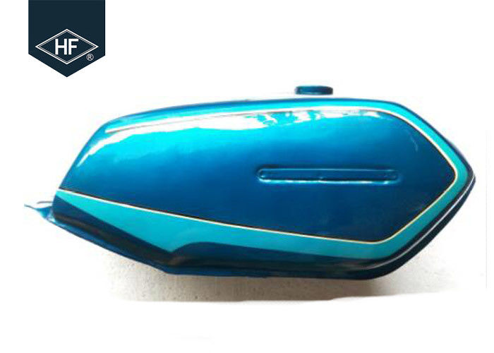 Colorful 9L Motorcycle Tank Other Motorcycle Parts Iron With Painting For SUZUKI AX100